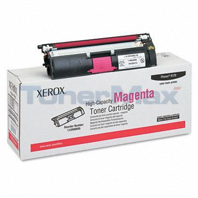 XEROX PHASER 6120 TONER CART MAGENTA 4.5K